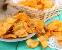 Sweet Potato & Rosemary Crisps/ Chips