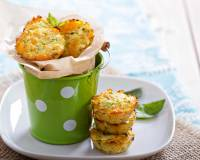 Zucchini & Red Pepper Muffin Recipe
