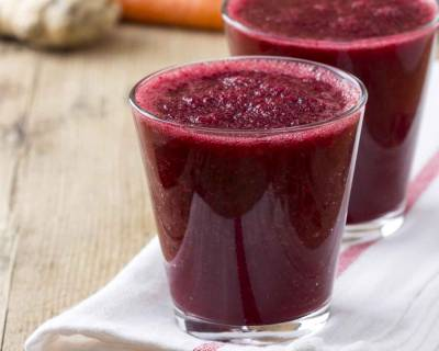 Beetroot Juice Recipe With Cucumber & Pineapple