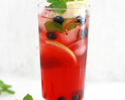 Blueberry and Lemon Iced Tea Recipe