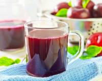 Plum Ginger Juice Recipe