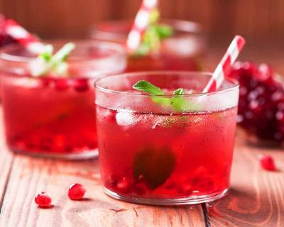 Pomegranate Mint Cocktail Recipe