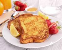 French Toast Recipe Flavored with Orange