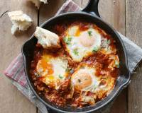 Shakshuka With Oats Recipe-A High Protein Breakfast