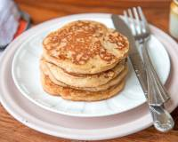 Whole Wheat Buttermilk Banana Pancakes Recipes