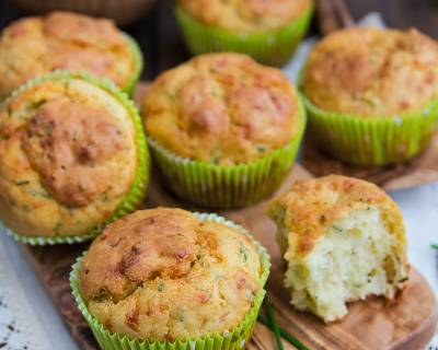 Herbed Muffins With Cheese Recipe