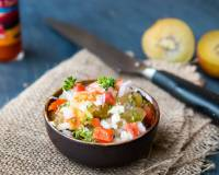 Spicy Kiwi Salsa Recipe with Feta Cheese