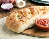Whole Wheat Vegetarian Stromboli Recipe