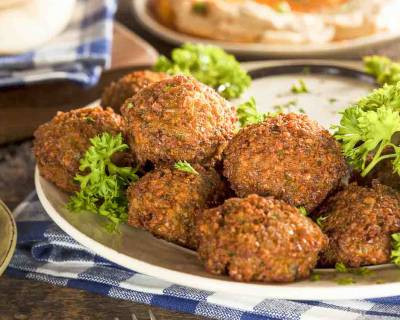 Lebanese Chickpea Falafel Recipe - Healthy Non Fried Recipe
