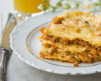 Baked Roasted Vegetable Lasagna Recipe With Low Fat Cheese & Oat Sauce