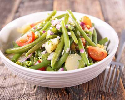 Sweet Potato & Green Bean Salad Recipe