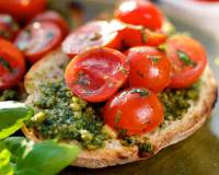 Broccoli Pesto Open Toast Recipe