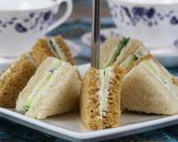 Spiced Chutney Sandwich Recipe With Mint Mayo