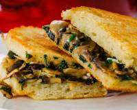 Grilled Mushroom Sandwich Recipe With Herbs