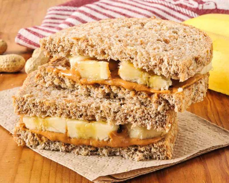 Peanut Butter Banana Sandwich Recipe