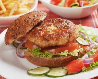 Vegetarian Chickpea Burger Recipe