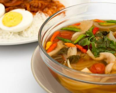 Vegetarian Tom Yum Soup Recipe