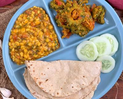 Taste A Flavorful Sindhi Diabetic Meal Of Tidali Dal, Karela Bhaji And Jowar Roti