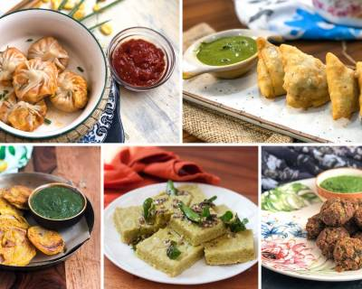 Delicious Indian Vegetarian Snack Recipes For Rainy Season