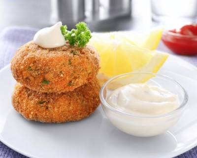Russian Pattice Recipe - Parsi Chicken Cutlet