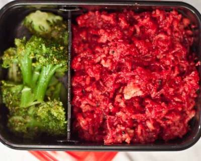 Beetroot Rice with Broccoli | Kids Lunch Box Recipes