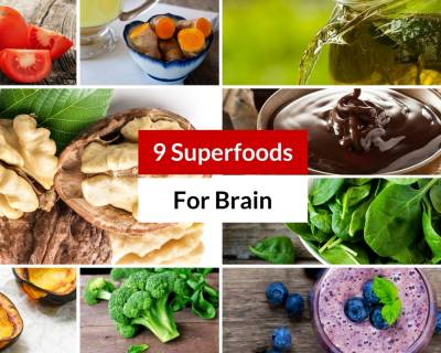 9 Superfoods That Boost Brain Power