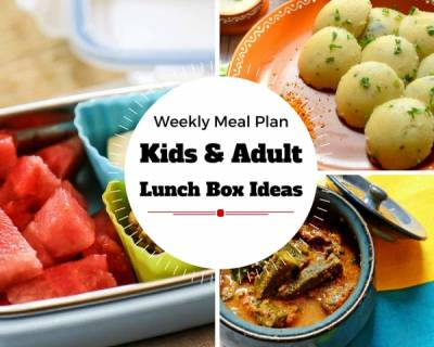 Weekly Lunch Box Recipes & Ideas from Beetroot Paratha, Spinach Pasta, Masala Bhindi & More