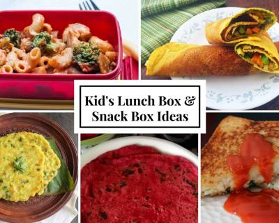 Weekly Lunch Box Recipes & Ideas from Grilled sandwich, Rava rotti to Chickpea crepe with salad and chutney and more
