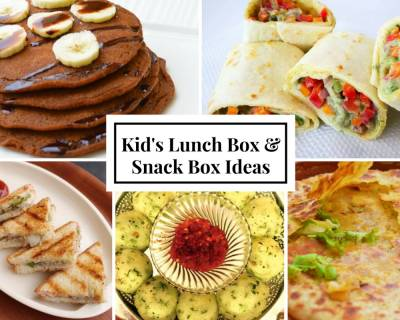 Weekly Lunch Box Recipes & Ideas from Ajwain Paratha, Kara Sevai, Vegetable Brown Rice, Tortilla Wraps & More