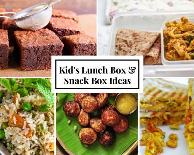 Weekly Lunch Box Recipes & Ideas from Masala Bhurji sandwich, Maharashtrian Ghavan, Chettinad style pulao and more
