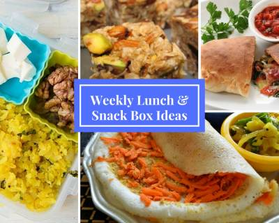 Lunchbox Recipes & Ideas from Calzones, Parathas to No-bake oatmeal energy bars & Much More