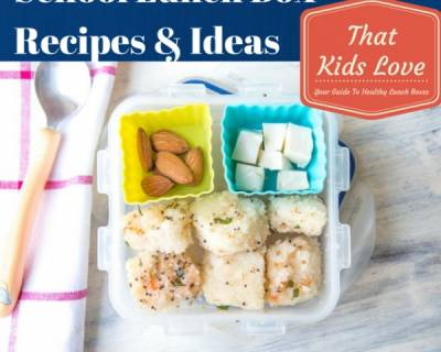 EBook - Back To School Lunch Box Ideas and Recipes