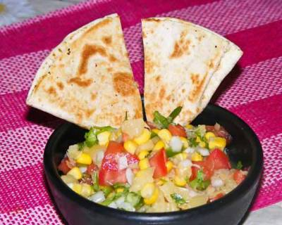Corn Pineapple Salsa Salad Recipe