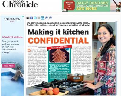 Making it Kitchen Confidential | Deccan Chronicle Feb 2014