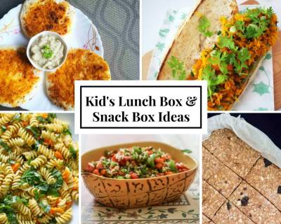 Weekly Lunch Box Recipes & Ideas from Milagai podi Uthappam, Kadai tofu sabzi, Crunchy Carrots In Hot Dogs Buns and more