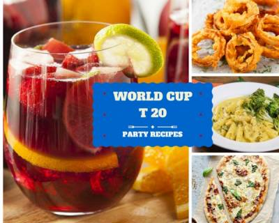 18 Recipes You Can Cook Up For World Cup T20 Match Party!
