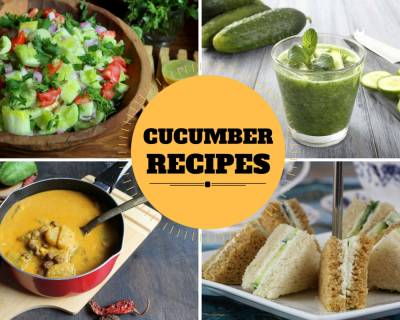 25 Cucumber Based Recipes You Must Try!