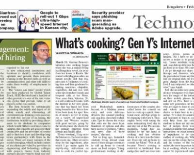 Deccan Chronicle April 2011
