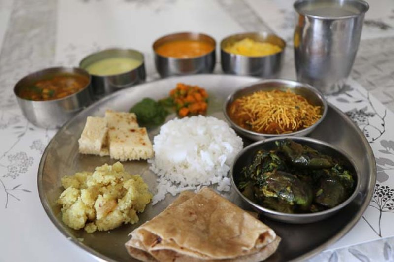 Mini Gujarati Thali Menu Ideas Recipes