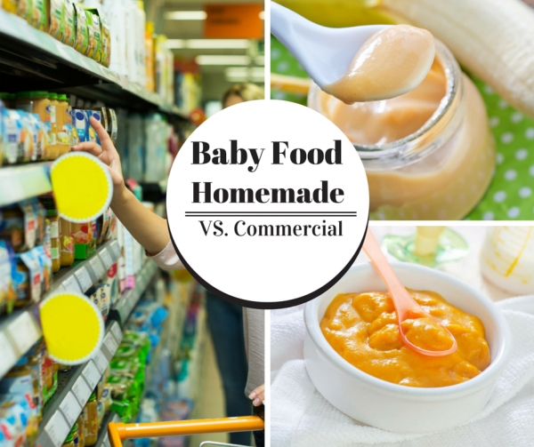 How Do You Decide - Commercial Baby Food or Homemade Super Baby Food?
