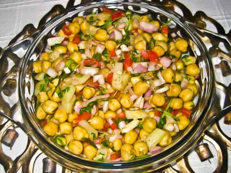 Potato and Chickpea Salad Recipe