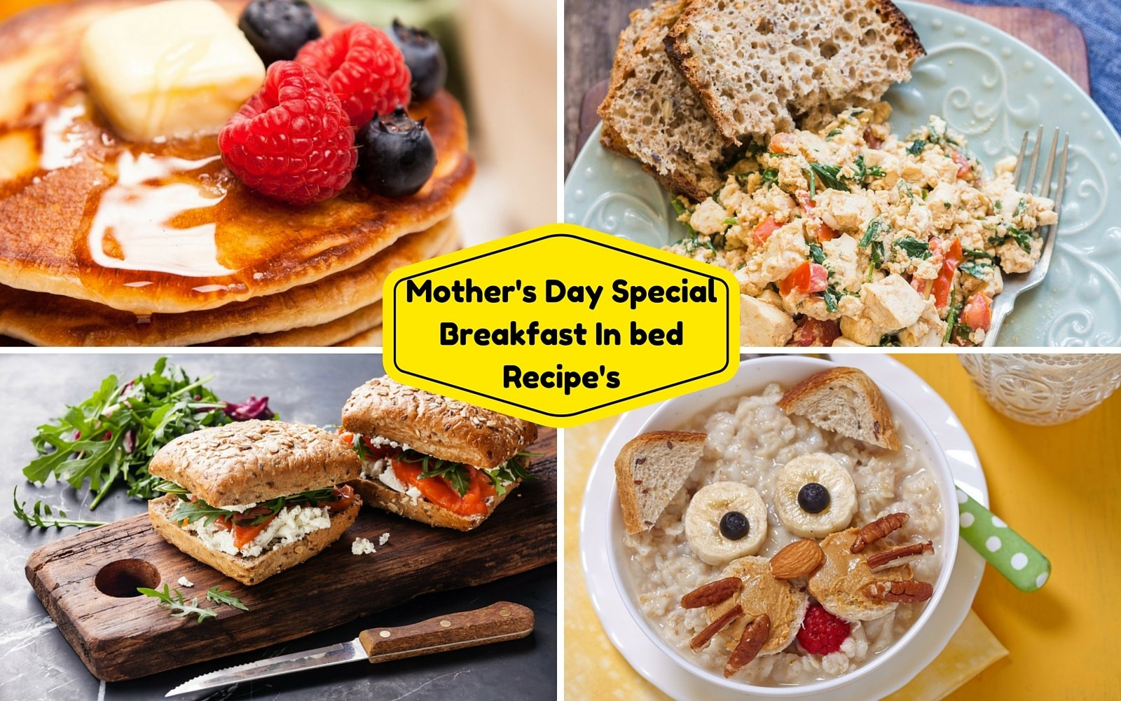 Mother S Day Special Breakfast In Bed Recipe