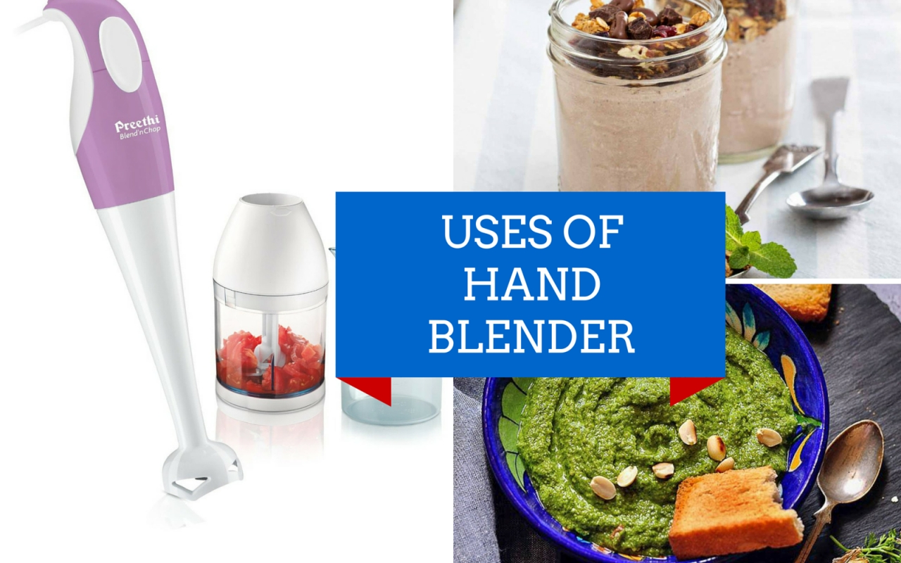 5 Uses Of Hand Blender Which Will Make Your Life Easier By
