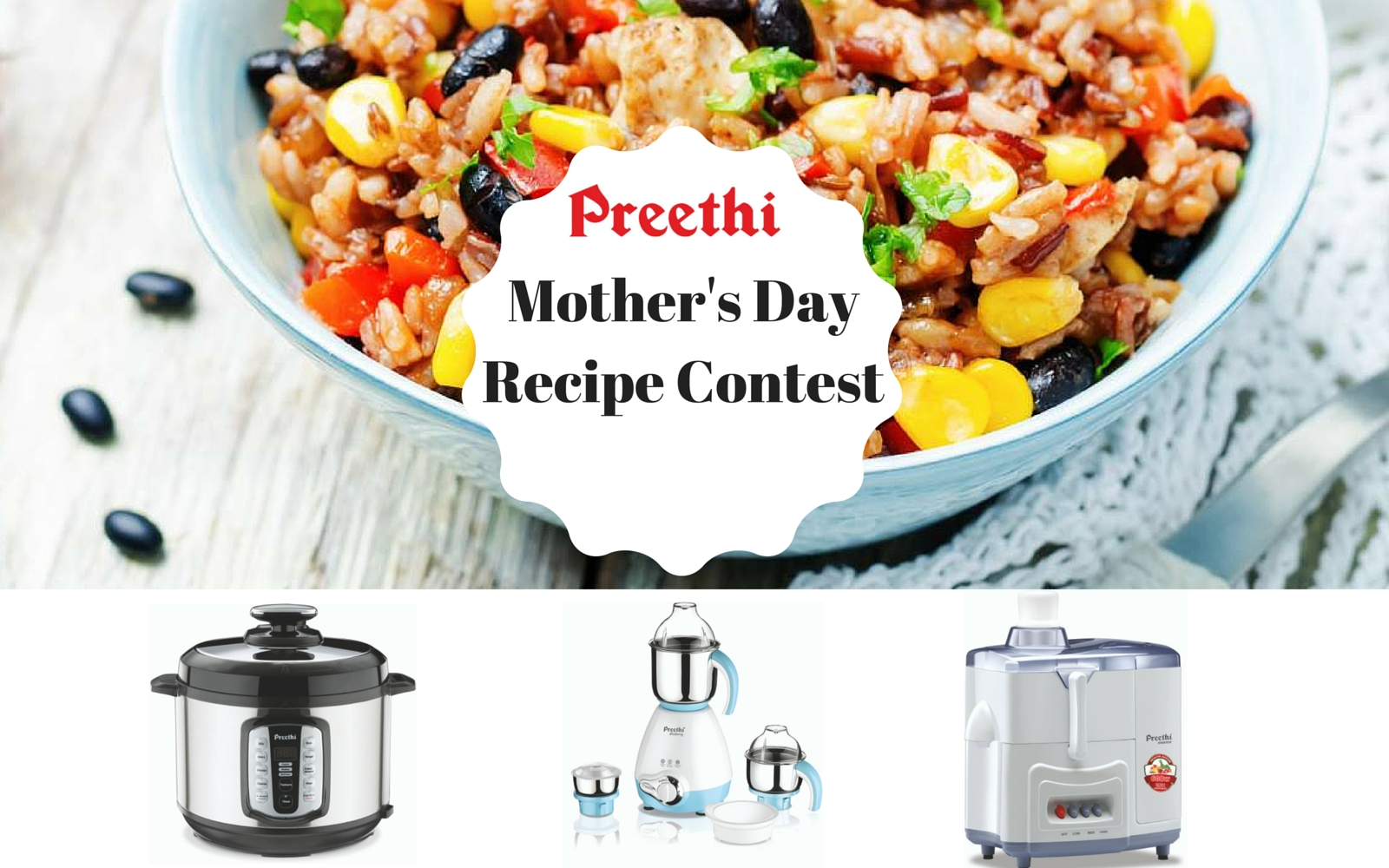 Mother S Day Recipe Collection Contest With Preethi Kitchen