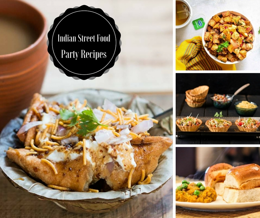 9 Indian Favorite Street Food Party Recipes For Your Weekend