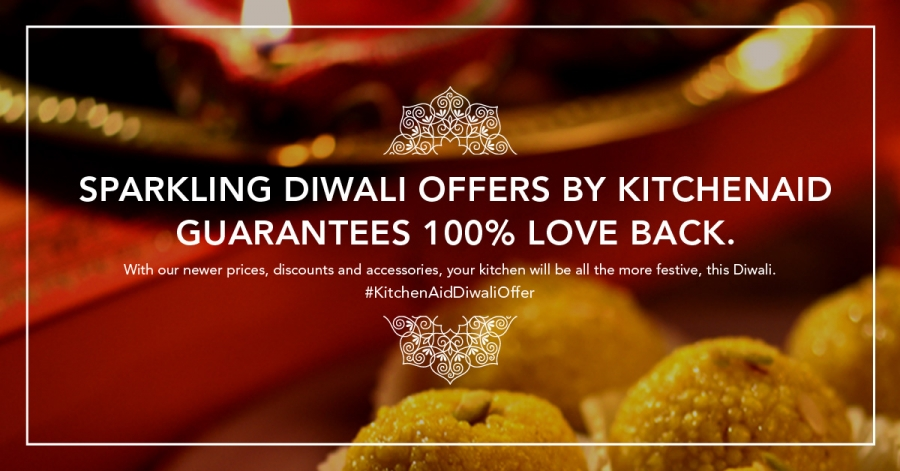 We Have Some Sparkling Diwali Offers From Kitchenaid India